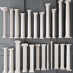 羅馬柱羅馬桿模型