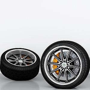車輪胎模型
