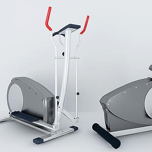 健身器材單人健騎機模型