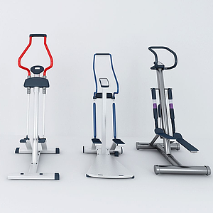 現代體育器材組合模型
