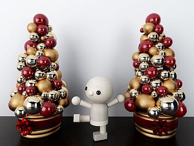 糖果樹飾品擺件模型3d模型