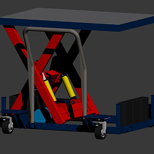 3d升降<font class='myIsRed'>工程車</font>模型