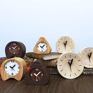各式现代闹钟钟表组合模型