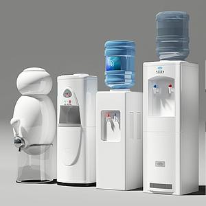 現代新式智能飲水機組合模型