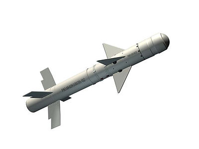 霹靂8軍事導彈3d模型