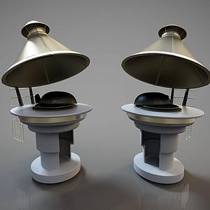 現代雕塑藝術品灶臺模型