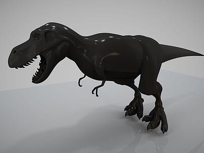 恐龍雕塑模型模型3d模型