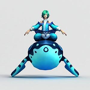 3d<font class='myIsRed'>王者榮耀</font>游戲男角色模型