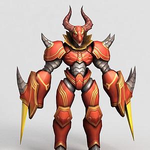 游戲王者榮耀男角色人物模型