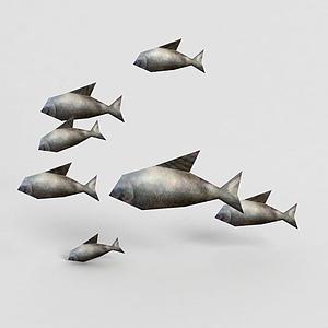 3d<font class='myIsRed'>游戲角色</font>魚模型