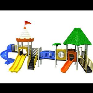 3d兒童<font class='myIsRed'>滑梯</font>模型