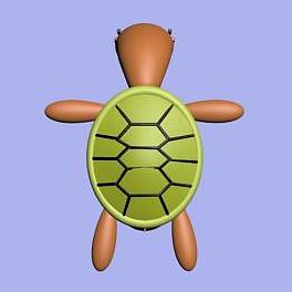 烏龜先生模型