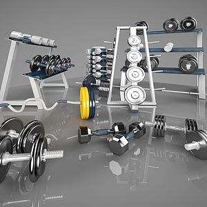 體育運動器材模型