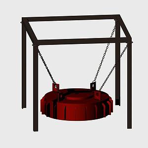 電磁除電器模型