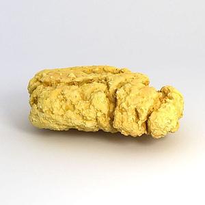 石頭面包模型