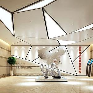 巴东电子商务展示中心模型