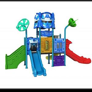 3d機器人<font class='myIsRed'>滑梯</font>模型