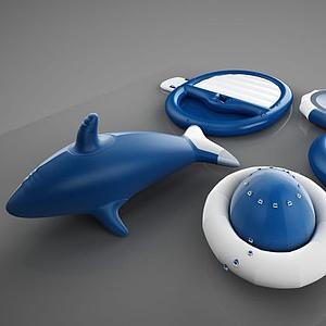 游泳幼兒用品模型