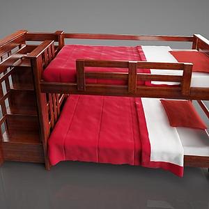3d<font class='myIsRed'>兒童床</font>模型