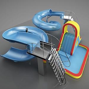 幼兒公共游樂設施模型