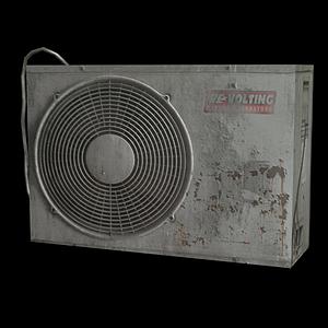 空調外機模型