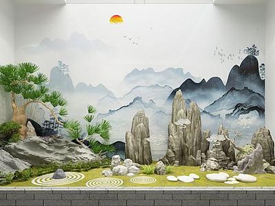 3d園藝景觀模型