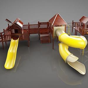 幼兒游樂設施模型