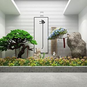 園藝小品模型