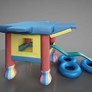 幼兒游樂園游樂設施模型
