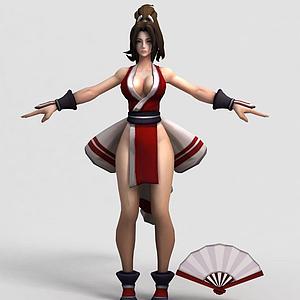 王者榮耀游戲女角色模型