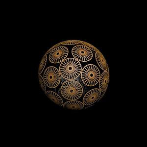 球型編織模型