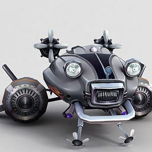 神魔坐騎機械飛行器模型