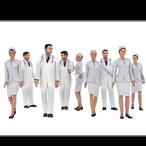 醫生護士模型