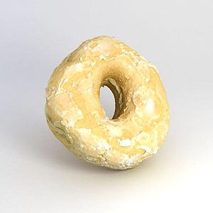 游戲食物甜甜圈模型