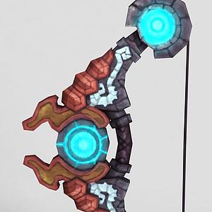龍之谷游戲武器模型