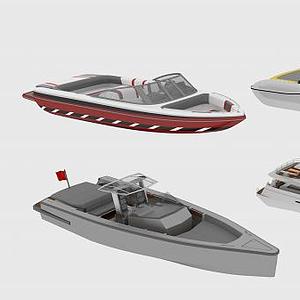 現代游艇模型