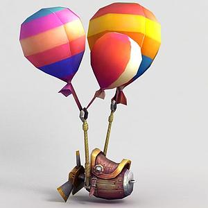 神魔坐騎飛騎氣球模型