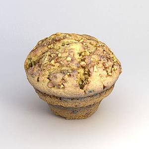 3d游戏食物面包模型