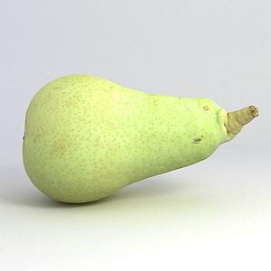 游戲食物梨模型