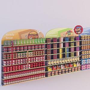 商店物品陈设263d模型