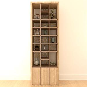 3d经典陈列柜模型