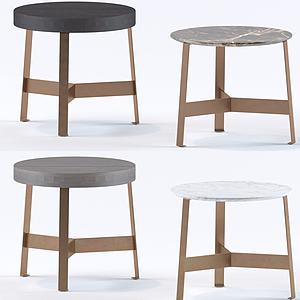 北歐小板凳圓凳模型