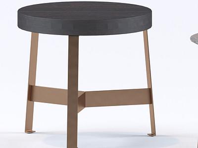 北歐小板凳圓凳模型3d模型