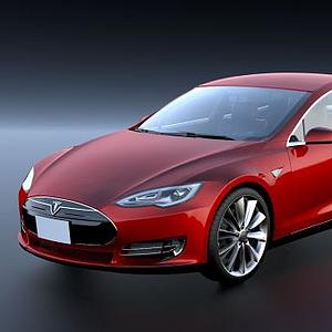 特斯拉汽車ModelS模型