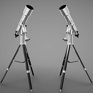 現代風格望遠鏡模型