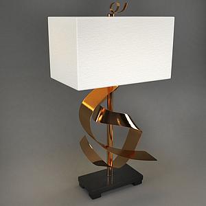 后現代設計式臺燈模型