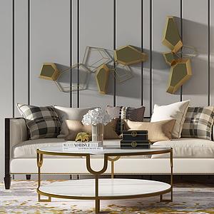 沙發組合模型
