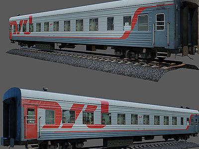 3d<font class='myIsRed'>火車</font>箱模型