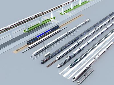 3d地鐵站模型