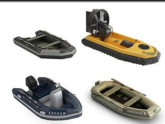 橡皮艇模型